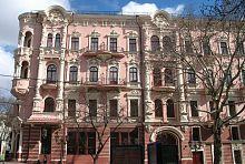 Південний фасад готелю Бристоль (колишня Червона) в Одесі