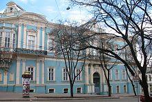 Южный фасад дворца Абазы в Одессе
