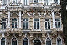 Портал центрального входа дома Лерхе в Одессе