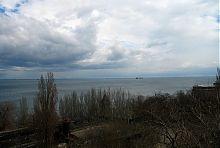 Мыс Ланжерон в Одессе