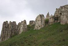 Скалы Меч-горы Белокузьминовского обнажения