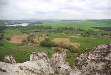 Вершина скальной гряды в Белокузьминовке