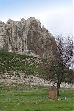 Меловая гора Белокузьминовского обнажения
