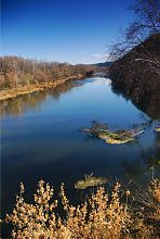 Река Северский Донец  (р-н Святогорска)