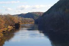 Меловые горы Северского Донца (р-н Святогорска)