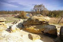 Річка Молочна біля Кам'яної Могили