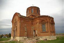 Апсида церкви святого Михаила Тихоновки