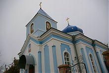 Колокольня мелитопольского собора Александра Невского