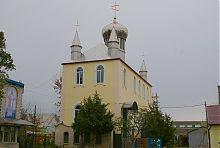Здание мелитопольского Александро-Невского прихода