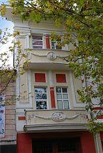 Ризалит проездной арки дома П. Черникова в Мелитополе