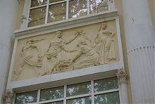 Барельеф по древнегреческим мотивам (Мелитопольский музей)