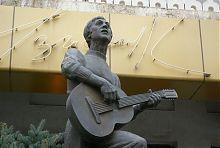 Пам'ятник В.Висоцькому в Мелітополі