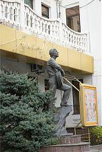 Пам'ятник Висоцькому в профіль (Мелітополь)