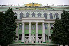 Центральный корпус аграрного университета в Мелитополе