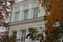 Третий ярус центрального корпуса университета