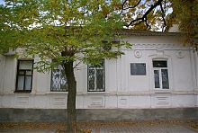 Центральний фасад будинку Сивицького в Мелітополі