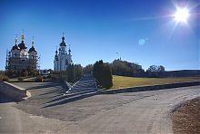 Храмы Богородичного женского скита Святогорской Лавры