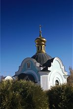 Каплиця Олександра Невського зі святим джерелом в Богородичному