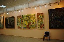Бердников К.М. Триптих Приазовье, 1992 Бердянского художественного музея