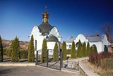 Апсида храму Богородичного святого джерела