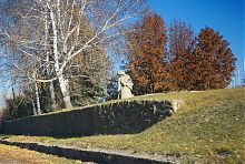 Пам'ятник Скорботна мати меморіалу в Богородичному