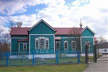 Южный фасад Вознесенского храма в Новотроицком