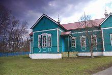 Трансепт деревянной Вознесенской церкви