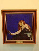 Фешин Н.И. Женщина с зеркалом