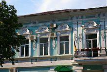 Декор второго этажа особняка Гофа по Екатерининской 19 (ныне Мира)