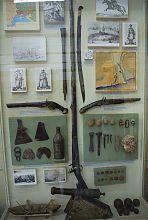 Экспонаты казацких времен мариупольского Приазовья