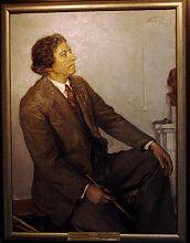 Бєлоусов П.П. Портрет художника І.І. Бродського Бердянського художнього музею