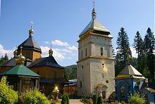 Вежа-скарбниця і Хрестовоздвиженський собор Манявського скиту