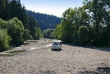 Река Манявка одноименного лесничества