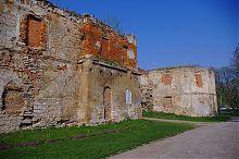 Восточная бастея Бережанского замка