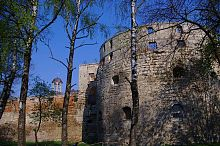Южный фасад Бережанского замка