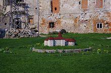 Макет реставрации Бережанского замка
