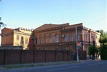 Дворовой фасад здания отделения Госбанка в Мариуполе