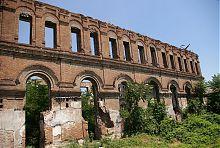 Дворовий фасад маріупольської хоральної синагоги