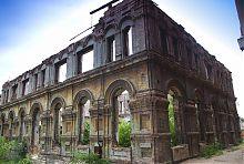 Северо-западный угол синагоги в Мариуполе