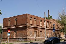 Юго-восточный корпус акцизного склада №7 в Мариуполе
