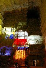 Четырехярусная галерея соляной шахты Соледара