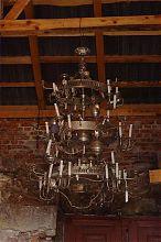 Люстра. Экспонат второго этажа музея Бережанского замка
