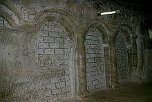 Глухая аркада соледарского музея соли