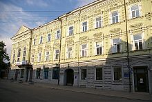 Западное крыло отеля Континенталь в Мариуполе