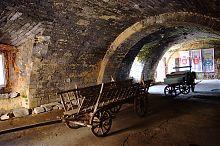 Экспозиция первого этажа Бережанского замка