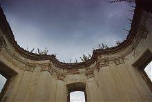 Пилястры внутреннего декора дворца Сангушко