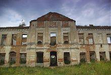 Південний ризаліт палацу Сангушків в Ізяславі