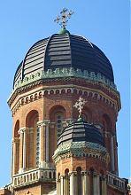 Храмовые купола в Черновцах