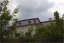 Східний фасад палацового флігеля в Антонінах