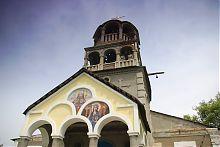 Тимпан ганку Дмитрівського храму в Золотому Колодязі